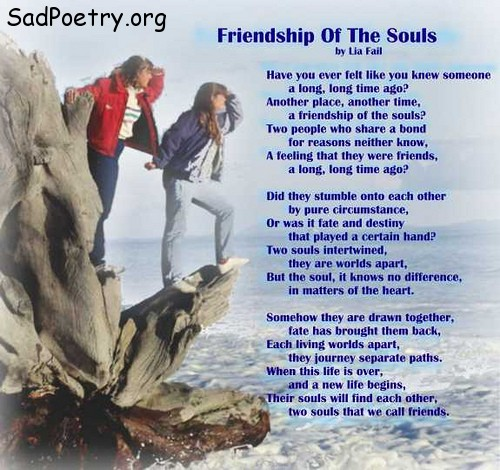 Sad Quotes On Comparing Love With Friendship Download: Friendship Of The Souls