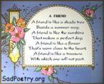 A Friend | Best English Poems