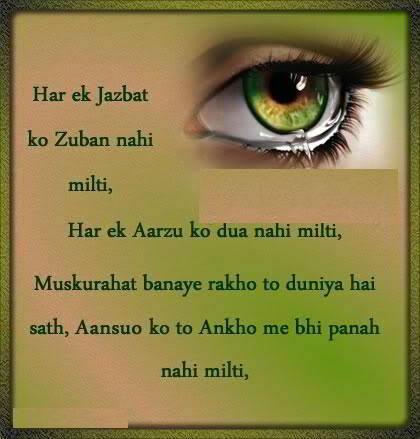 Aansoo Ko Tu Ankho Me Bhi