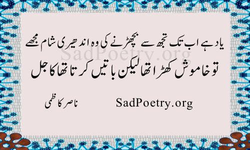 Yaad Hai Ab Tak Tuj Se Bicharne Ki