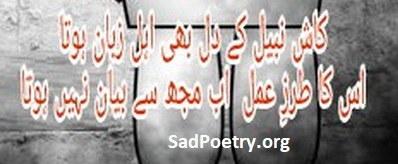 dil bhi ahl-e zuban hota
